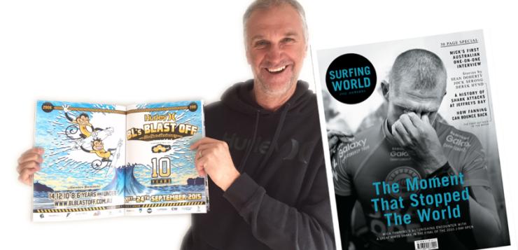 Blast Off in Surfing World Magazine