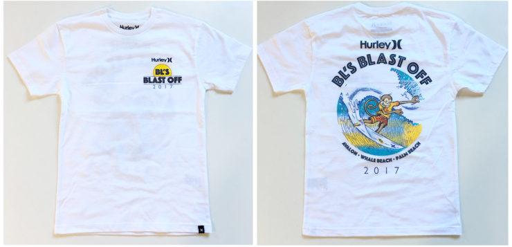 Blast Off T-Shirts 2017