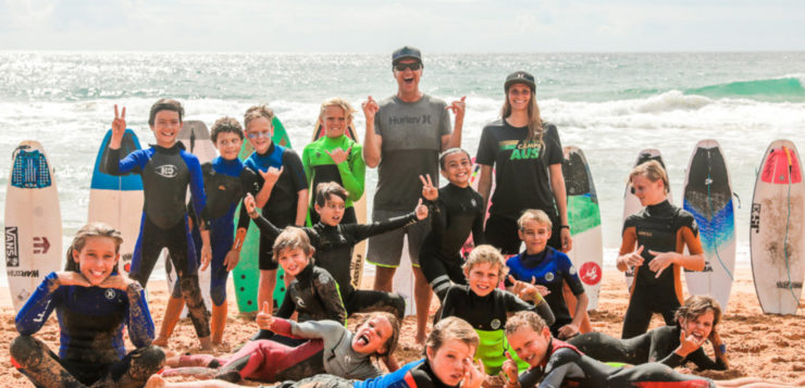 Christmas Holiday Surf Camps
