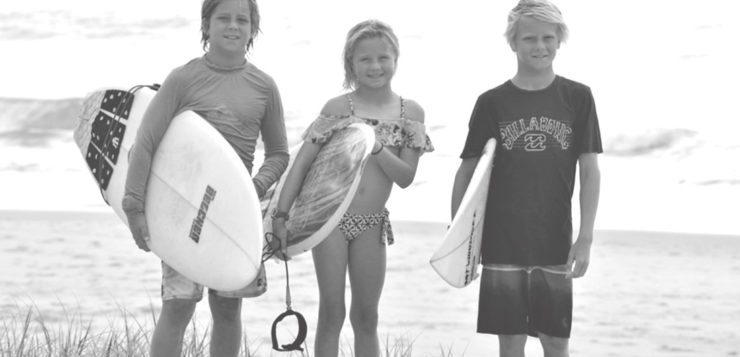 Meet The Holstrom Groms, Featured In Surfing World Magazine